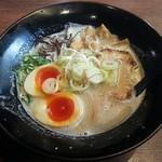 あ - 【『あ』ラー麺 + 濃厚玉子】¥700 + ¥100