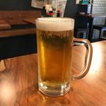 やきとん ひなた - 生ビール