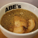 ラーメン ABE's - 昼のつけ麺