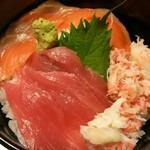 66253297 - 三色海鮮丼