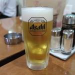 純華楼 - 生ビール