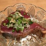 Sushiya - ねっとり美味しい鰹の炙りをさっぱり味付けで④