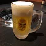 66255594 - 生ビール550円+税