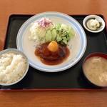 活きなり - 料理写真:和風おろしハンバーグ、850円です。