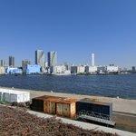 ツキ シュール ラメール - 目前の東京湾です
