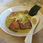 ラーメン ノボリザカ - 濃厚鯛だしラーメン(750円)