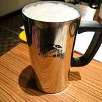 焼肉 けっさく - 生ビール