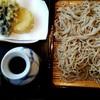 手打ちそば 梅蕎麦 - 料理写真:寒さらし野菜天付き1550円