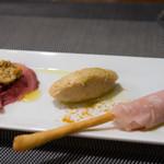 リストランテ ラ チャウ - 前菜盛り合わせ