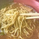 旭川ラーメン さいじょう - 麺アップ