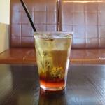 CIMOLO CAFE - 桜ティーソーダ