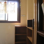CIMOLO CAFE - 食器の返却棚