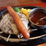 トマト&オニオン - 料理写真:ジャーマンハンバーグ