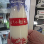 道の駅「信州蔦木宿」直売所 - 八ヶ岳牛乳180ml