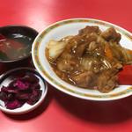 蓬莱飯店 - 鳥からし丼700円(税込)