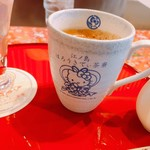 江ノ島 はろうきてぃ茶寮 - かわいいカップの珈琲