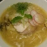 チョップスティック デ 麺 - 鶏豚和出汁濃厚らーめん濃いい野塩煮干味