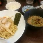 66266474 - 味玉入り超濃厚鰹鶏つけ麺。