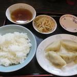 金町餃子 - 水餃子定食