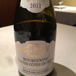 """ミチノ・ル・トゥールビヨン - 2011 Mongeard Mugneret Bourgongne Hautes Cotes de Nuits Rouge """"La Croix"""""""