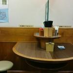名代 富士そば - 店内。