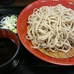 名代 富士そば - 盛り蕎麦。