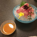 満寿家 - 「鯉あらい」800円