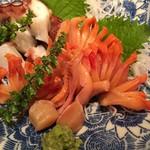 玉久 - 赤貝とタコ