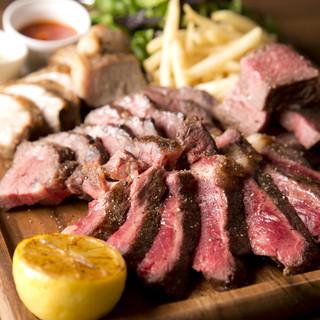 【熟成肉】厳選した牛肉や豚肉の熟成肉を丁寧にグリル!