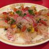 満州楼 - 料理写真:白身魚のカルパッチョ@1,580