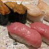 あっぱれ寿司 - 料理写真:大トロ・生ウニ・ホッキ貝