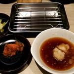 博多天ぷら たかお - 天つゆとバット