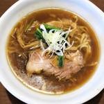 麺や豊 - 料理写真:中華そば(太麺)