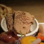 66273632 - 「色んなお肉の盛り合わせ『肉フェス』」の鶏レバームース