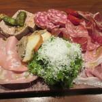 66276378 - 冷たいお肉の前菜盛り合わせ(2,000円)