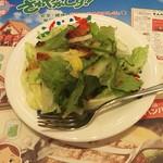 炭焼きレストラン さわやか - セットのサラダ(2017年4月29日)