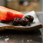 山猫軒 - 苺と黒豆