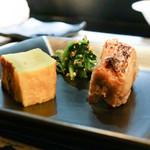 山猫軒 - 鯛の味噌幽庵焼きと玉子焼き