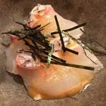 sushisuzuki - 真鯛 胡麻醤油