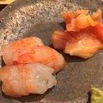 sushisuzuki - ぼたん海老/赤貝