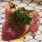 sushisuzuki - かつお 玉ねぎ醤油
