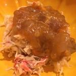 sushisuzuki - 毛蟹 渡り蟹醤油漬のせ
