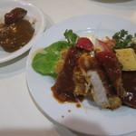 レストランいづみ - 日替わりランチ(+味噌汁付) 800円