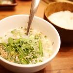焼肉 433 - コムタンスープ+ライス