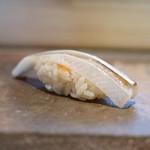 菊鮨 - 細魚、紅葉おろし