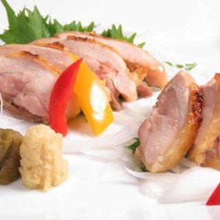 阿波尾鶏炙り塩焼き