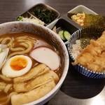 しこしこ亭 - カレーうどんとちょこっと天丼定食