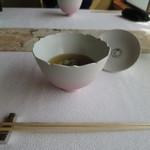嵐山MITATE - 桜のかほり漂う桜色の椀物