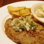 Kirinshithipurasu - ハンバーグにんにく香味ソース