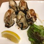 広島お好み焼き・鉄板焼き 倉はし - 牡蠣バター